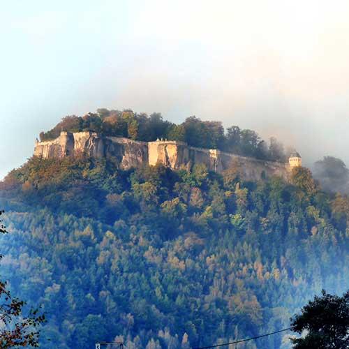 Tour 07 - Rund um die Festung Königstein
